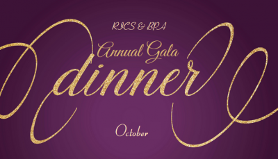 BPA & RICS Annual Gala Dinner